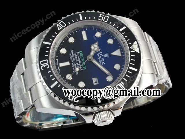 Replica Horloge China Rolex DEEPSEA Blue Dial 116.660 D-BLUE Super 3135