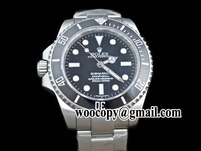 Left-haned Replica horloges china Rolex Submariner keramische Bezel
