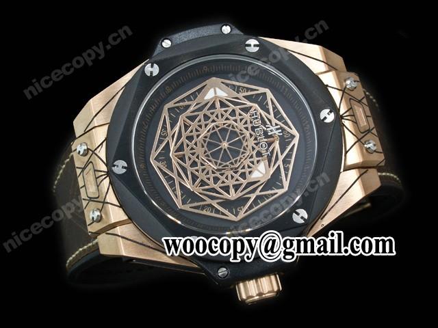 Replica Horloges china Hublot Big Bang Sang Bleu
