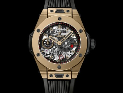 Replica SIHH 2017 Hublot Horloges  Big Bang Meca-10 Magic Gold