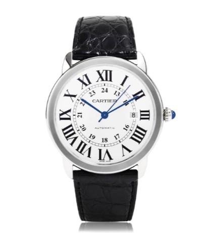 Goedkope Replica Cartier Horloges Ronde Solo De Cartier ref.W6701010