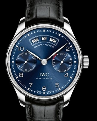 Replica IWC horloges Portugaise Calendrier Annuel Ref. IW503502