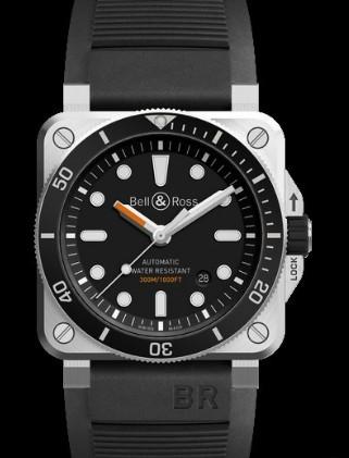 Goedkope Horloges China Bell & RossBR 03-92 Diver
