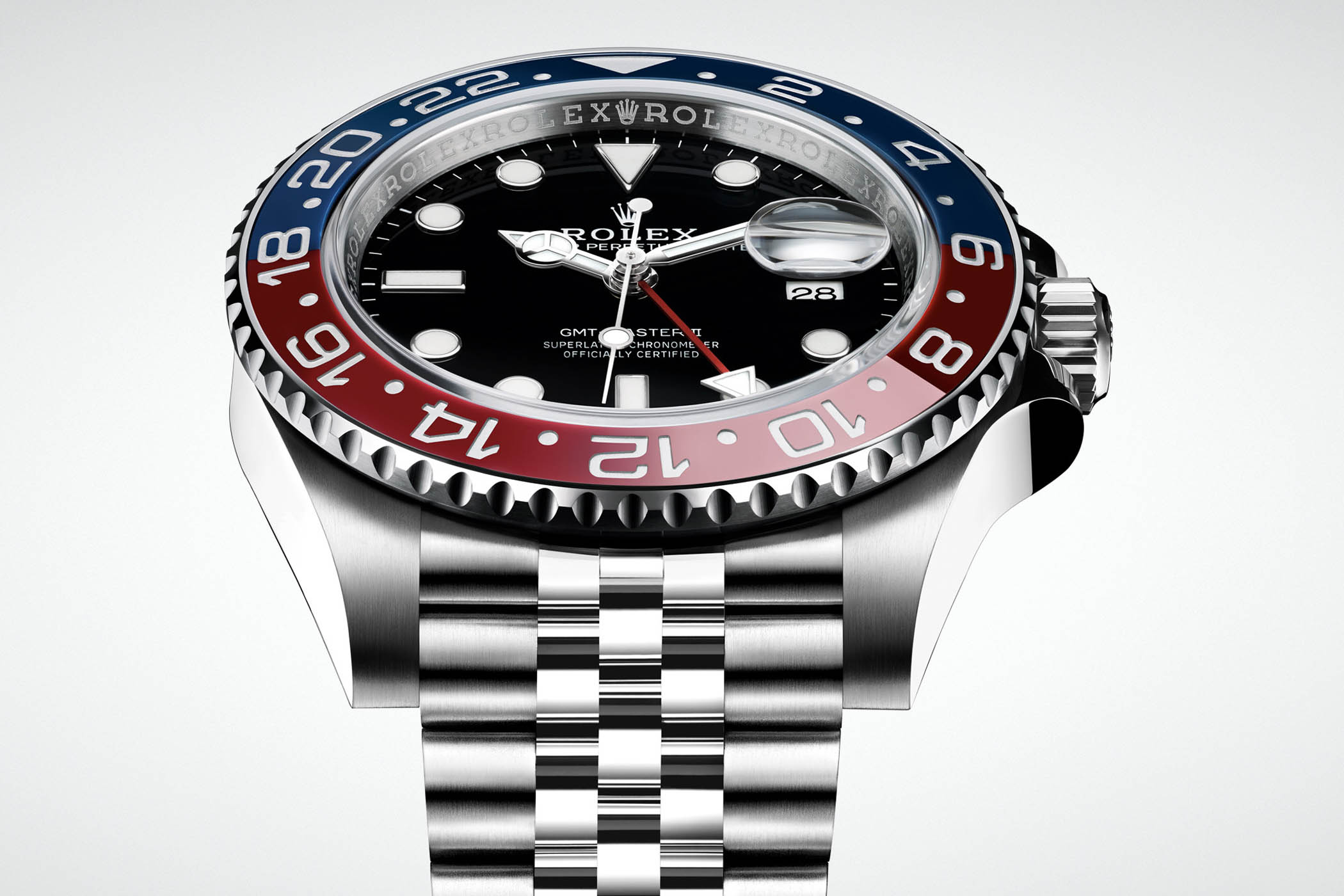 baselworld 2018 Rolex GMT Master II Horloges china 126710 BLRO