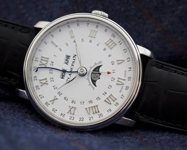 Replica horloges Blancpain Villeret Moonphase Complete Calendar