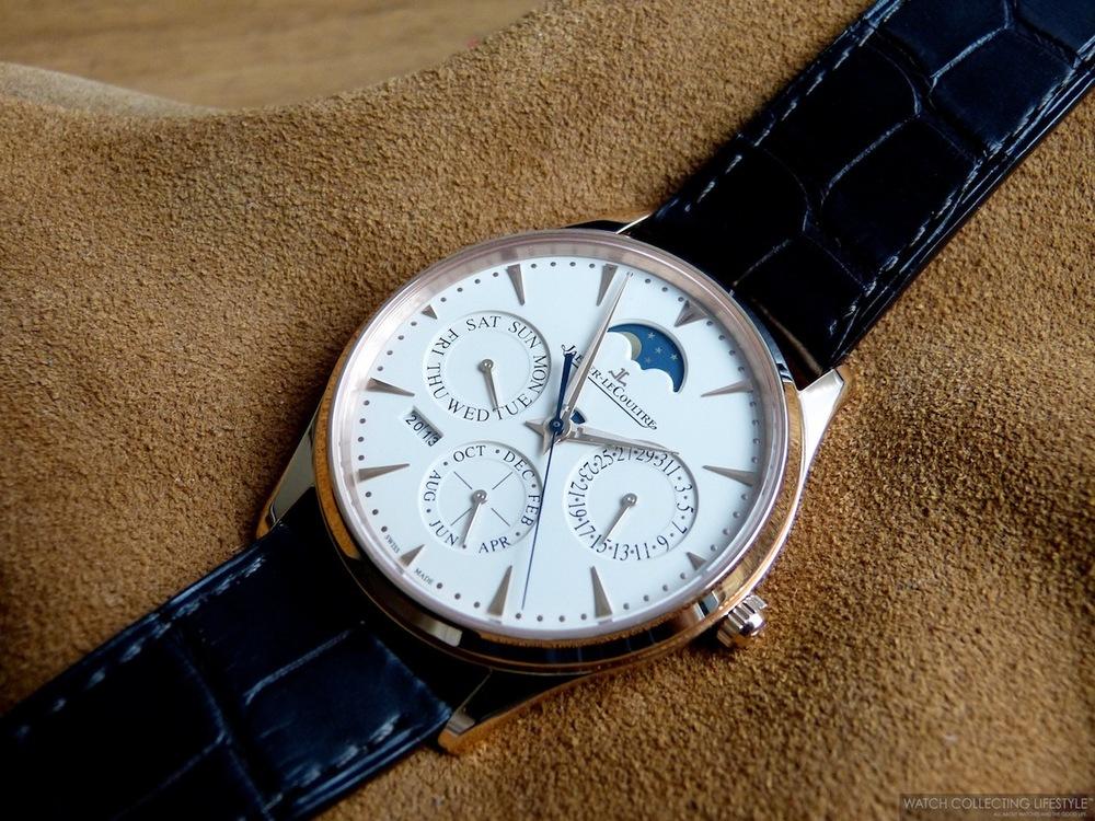 Replica Horloges Jaeger-LeCoultre Master Ultra Thin Perpetual