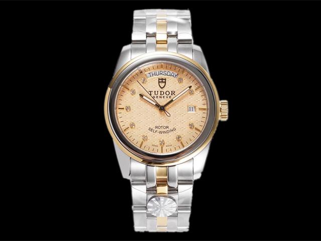 Goedkope horloges  Tudor Glamour Date Day M56003